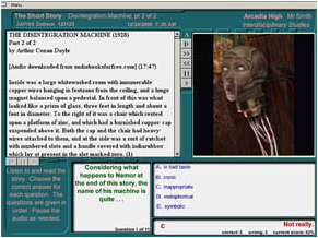 The Interactive Reading Lab Software for the Classroom Screenshot
