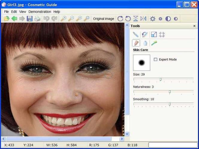 Cosmetic Guide Screenshot