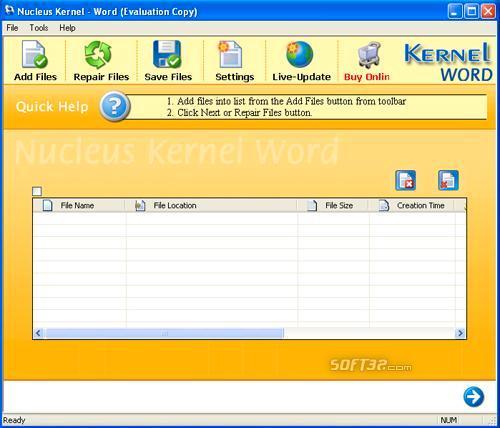 Repair Microsoft Word Screenshot 2