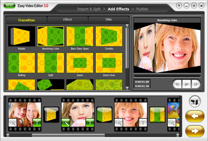 honestech Easy Video Editor Screenshot