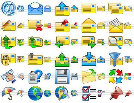 Small Email Icons Screenshot 3