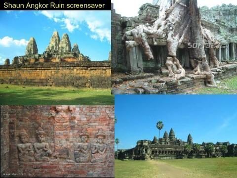 Shaun Angkor Ruin Screensaver Screenshot 1