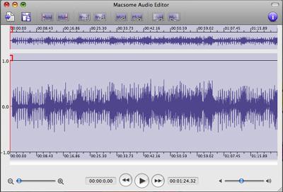 Macsome Audio Editor Screenshot 1