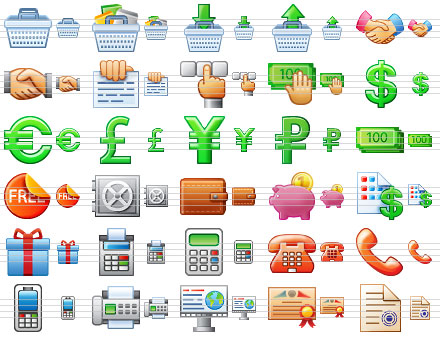 Small Business Icons Screenshot