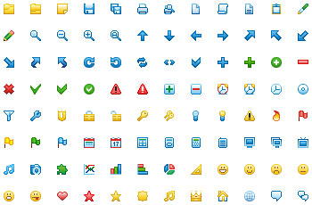 12x12 Free Toolbar Icons Screenshot