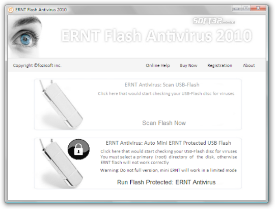 ERNT Flash Antivirus Screenshot