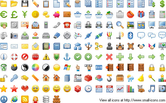 24x24 Free Pixel Icons Screenshot