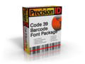 PrecisionID Code 39 Barcode Font Package 1