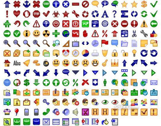 24x24 Free Button Icons Screenshot 2