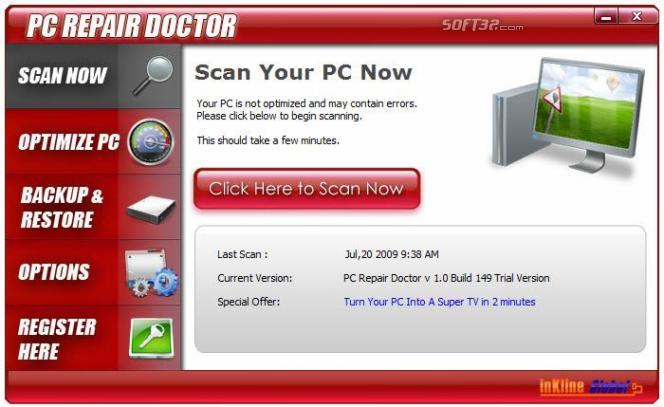 PC Repair Doctor Screenshot 2