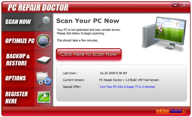 PC Repair Doctor Screenshot