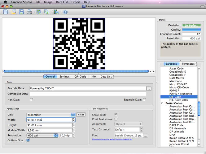 Download Barcode Creator Barcode Studio for Mac 14 0 0 for