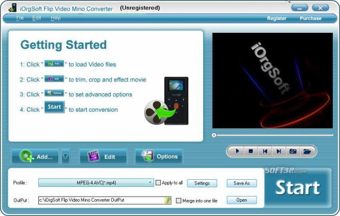 Flip Video Mino Converter Screenshot 2