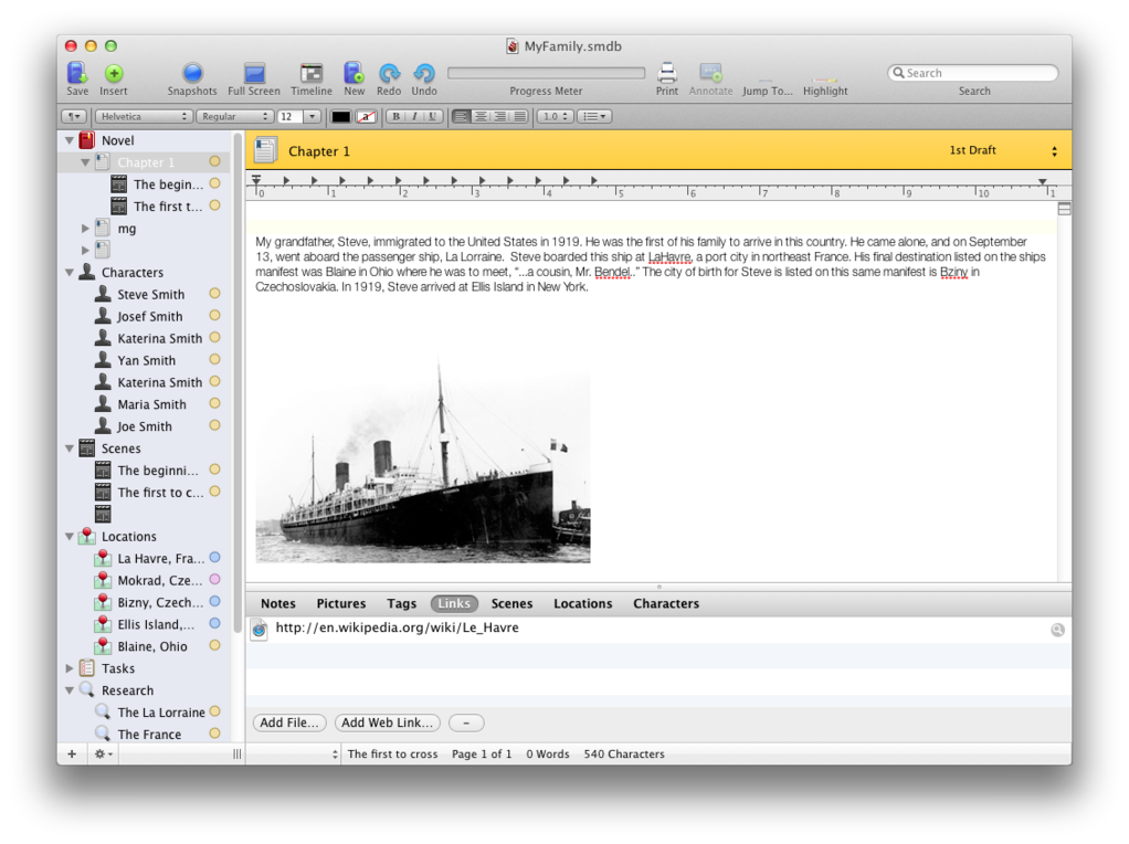 research paper writing software mac