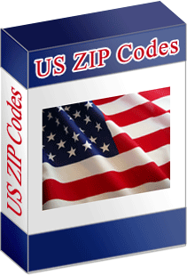 US Zip Codes Screenshot