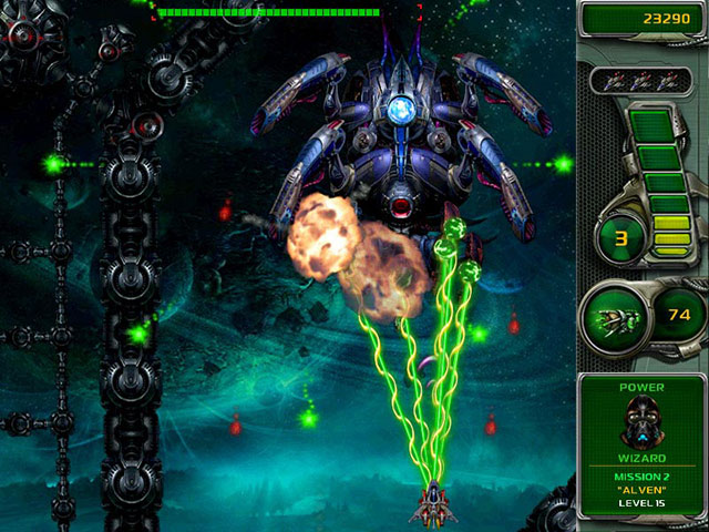 Star Defender 4 for Mac OS X Screenshot