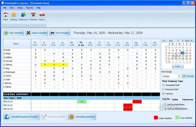 Employee Scheduling Software by EDP Screenshot 2