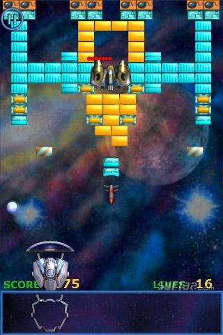 iPhone Meteor Brick Breaker Screenshot 3