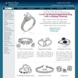 Unique Engagement Rings Screenshot 1