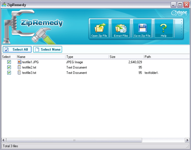 ZipRemedy Screenshot