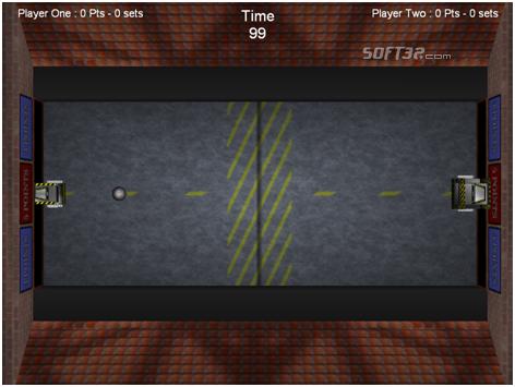 Robot Frisbee Screenshot 3