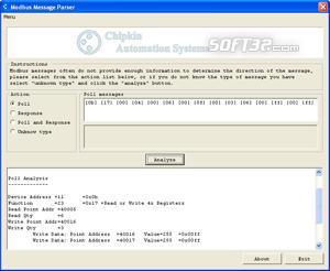 CAS Modbus RTU Parser Screenshot 3
