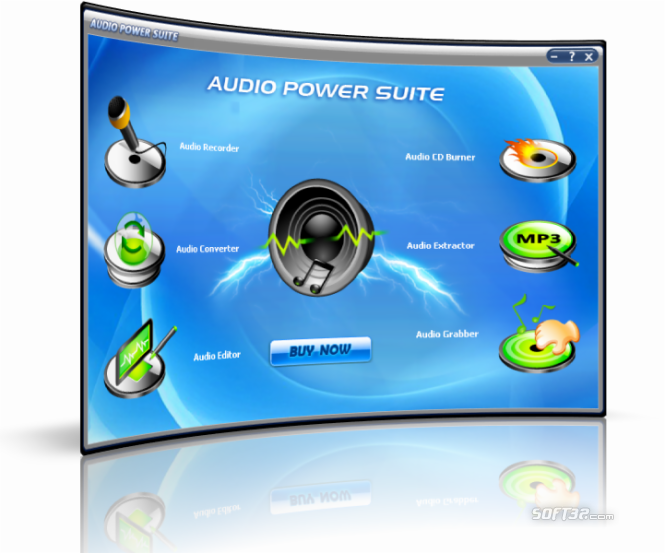 Audio PowerSuite Screenshot