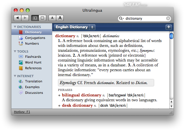 Ultralingua English Dictionary & Thesaurus Screenshot 2
