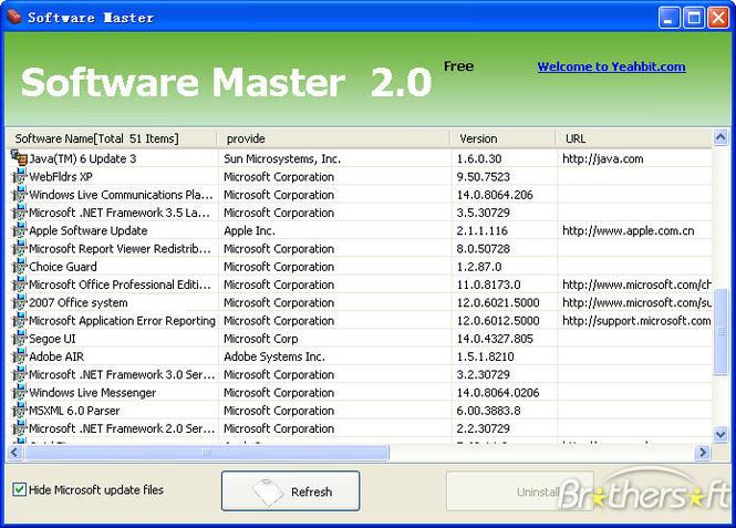 Software Master Screenshot