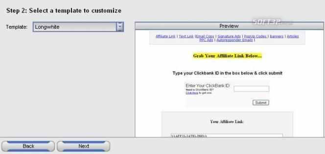 4Bec Affiliate Screenshot 1