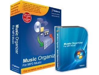 Gold MP3 Organizer Screenshot 1
