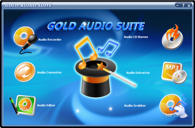 Gold Audio Suite Screenshot