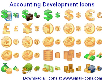Accounting Development Icons Screenshot
