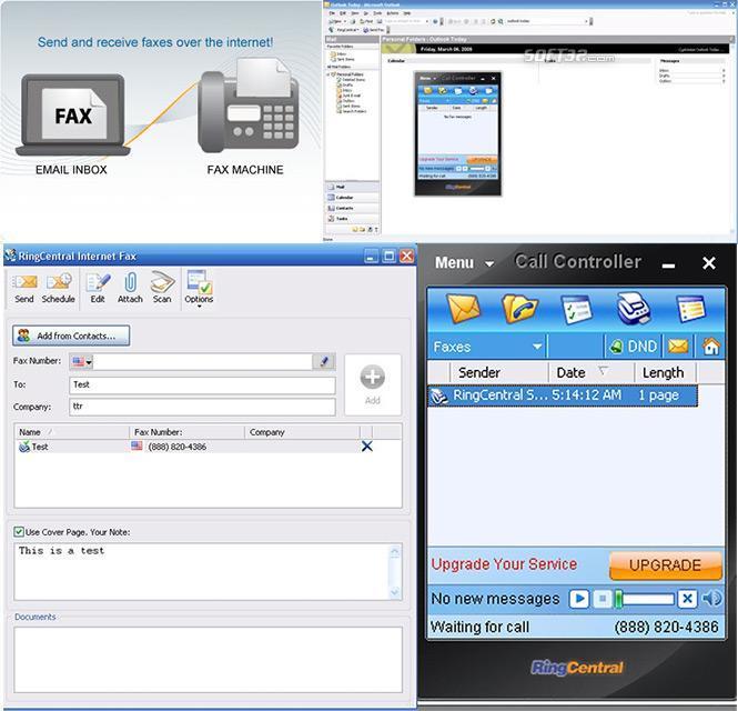 RingCentral Online Fax Service Screenshot 3