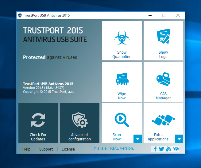 TrustPort USB Antivirus Screenshot 3