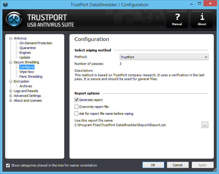 TrustPort USB Antivirus Screenshot 5