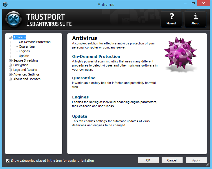 TrustPort USB Antivirus Screenshot 4