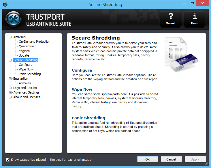 TrustPort USB Antivirus Screenshot 6