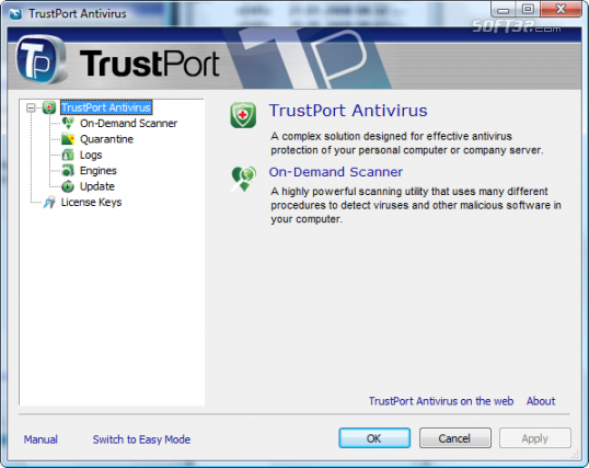 TrustPort USB Antivirus Screenshot 9