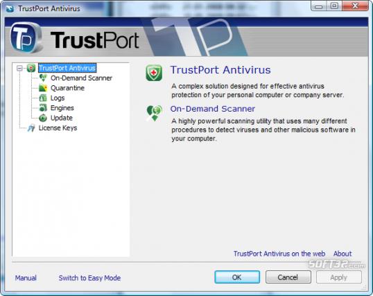 TrustPort U3 Antivirus Screenshot 3