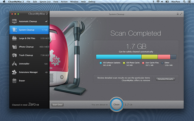 CleanMyMac 3 Screenshot 6
