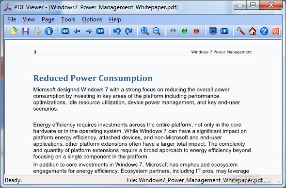 PDF Viewer for Windows 7 Screenshot 3