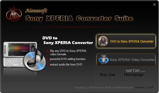 Aiseesoft Sony XPERIA Converter Suite Screenshot 3