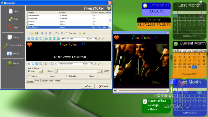 TimeSticker Screenshot 2