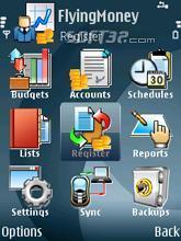 Money Manager for Symbian s60 v.5 Screenshot 2