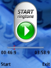 Flying Ringtone Maker Screenshot