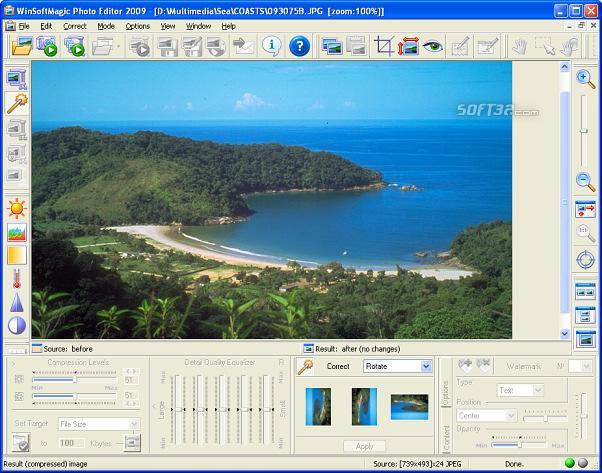 WinSoftMagic Photo Editor Screenshot 3