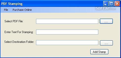 PDF Stamp Software Screenshot 3