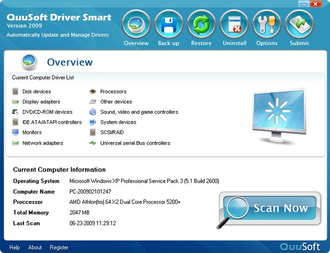 QuuSoft Driver Smart Screenshot