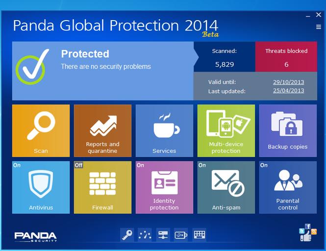 Panda Global Protection Screenshot 3